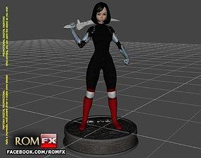 Alita Battle Angel - 3D Printable Action Figure OBJ