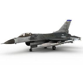 F-16 C Tigers military 3D