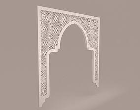 Arabic pattern 3D model