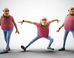 3D model Bald Head
