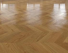 Oak Chevron floor 2 3D
