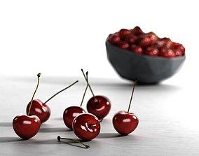 3D Bowl of Cherries