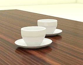 Tea Cup 3D model VR / AR ready