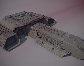 3D Daedalus Spaceship Replica