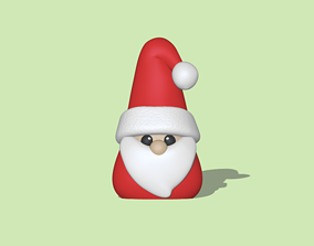 A Santa Claus to decorate your 3D print model