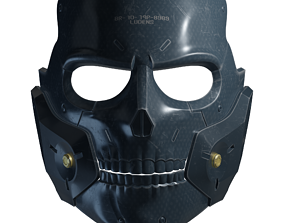 Die-Hardman Mask Printable Model PBR