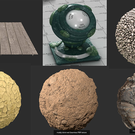 Pbr texture collection