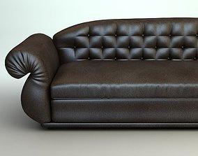 3D Leather Sofa 2