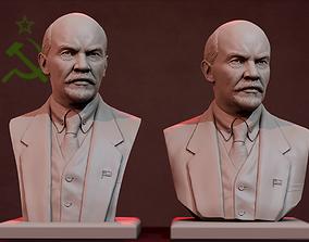 Vladimir Ilyich Lenin 3D printable model
