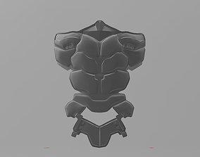 3D printable model Batman Arkham Knight Abdominal armor