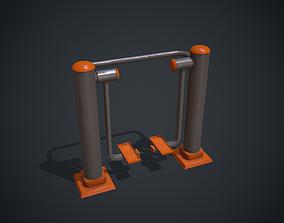 Street Exercise Equipment Outdoor Workout 3D model