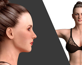 Beautiful Women -Rigged 3D model
