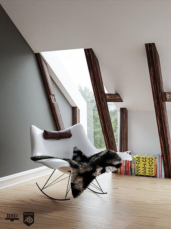 Stingray chair corner