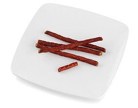 Thin sausage 3D