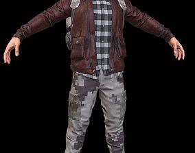 Apocalypse Survivor Male 3D model