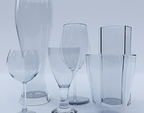 3D model Glass pack Vol 1
