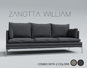 3D sofa zanotta william