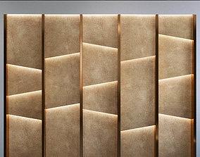 Wall Panel Set 87 3D