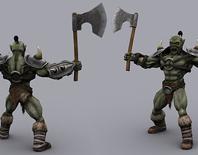 3D asset ORC GAME READY ANIMATED MODEL