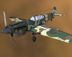 World War 2 Plane 3D asset