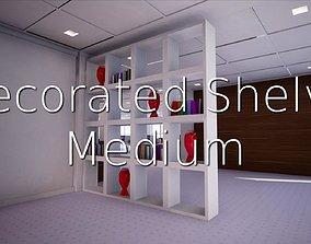 3D model Decorated Shelve Medium SHC Quick Office LM