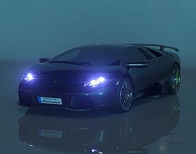 Lamborghini murcielago 3D printable model fast