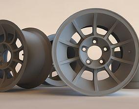 American Racing Vector printable rim