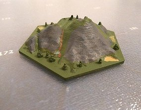 Hex Mountains for 3D printing accessories