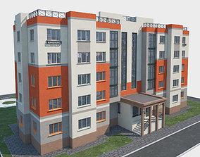 Building and landscape model