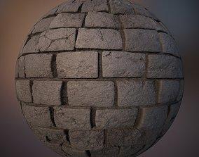 3D Cobblestone PBR 4K Texture Maps
