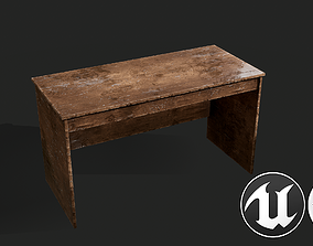 Office Table 3D model VR / AR ready