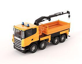 Scania Manipulator Toy Truck 3D model PBR