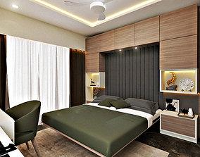 Murphy Bed 3D asset