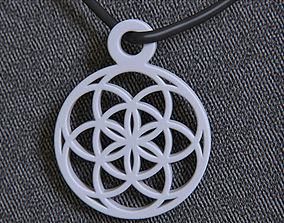 Seed Of Life Pendant 3D print model
