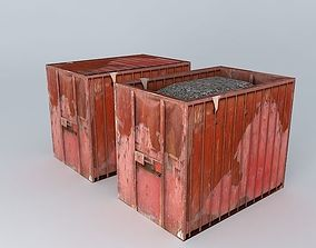 3D trash boxes