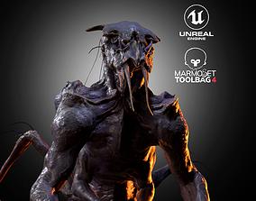 3D asset Realistic Alien