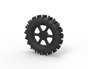 Diecast Offroad wheel 20 3D printable model