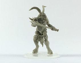 Beastman 3D print model - 35mm scale