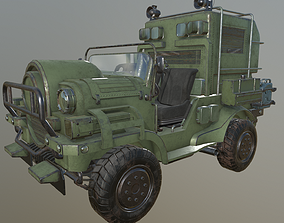 Jeep SUV army 3D