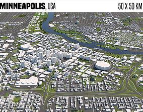 3D Minneapolis