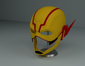 Reverse Flash Mask from Injustice 2 3D printable model 3