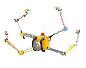 HIGH TECH BACKPACK 3D equipment