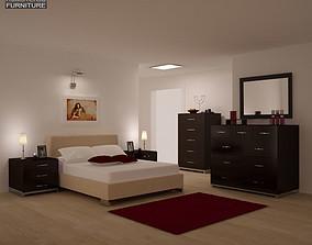 Bedroom Furniture 26 Set 3D model