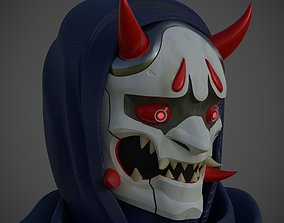3D printable model Mask Genji Oni skin from Overwatch