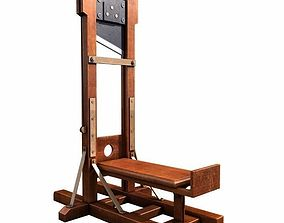 3D model execution guillotine