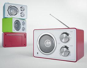 FM Radio 3D model