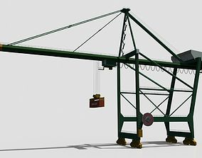 Container Crane 3D model VR / AR ready