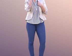 3D model Rocio 10575 - Talking Business Woman