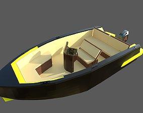 3D model Speedboat Indomita II
