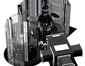 Meditation Chamber for Poser 3D model